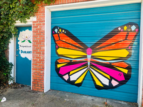 Wing Wall Mural