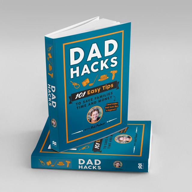 Dad Hacks book cover - Rob palmer