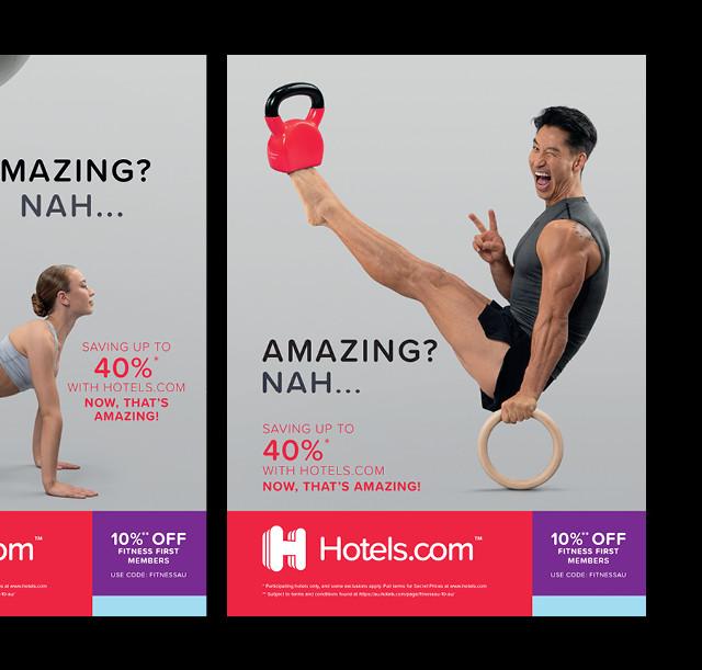 Hotels.com ad campaign