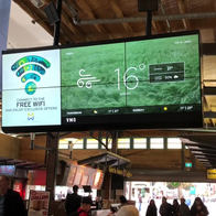 VMO Digitial Signage Daily Weather feed