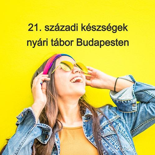 NoPara nyári tábor Budapesten