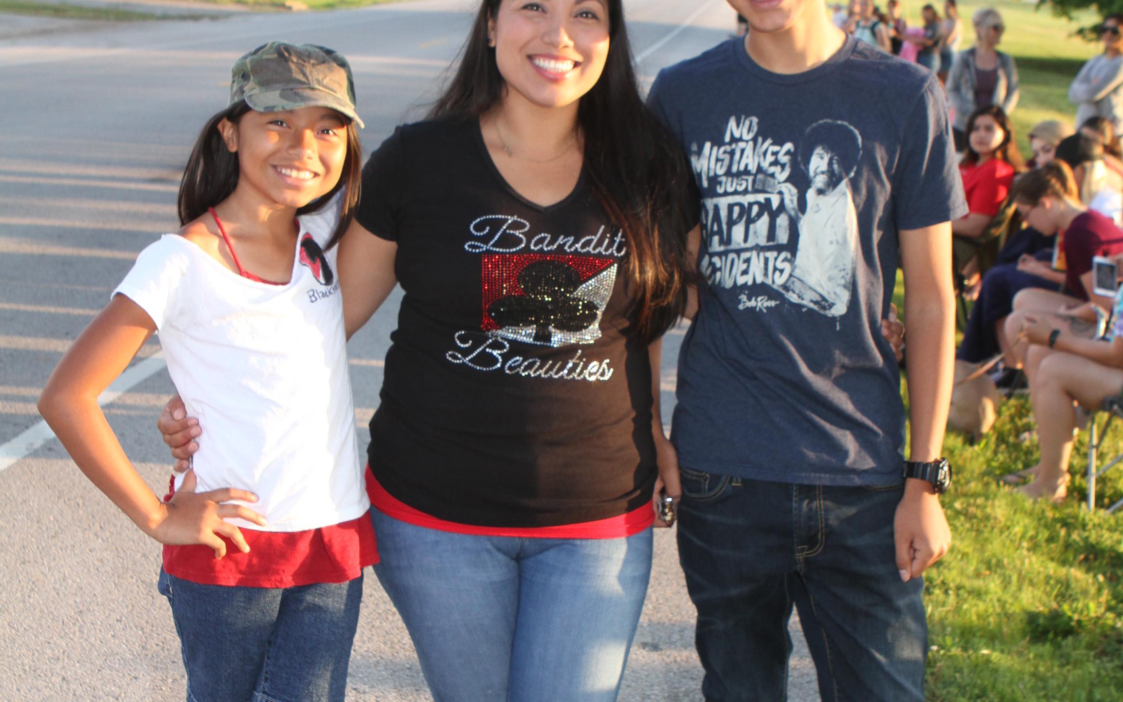 Aleena, Rocio & Micah Olivas