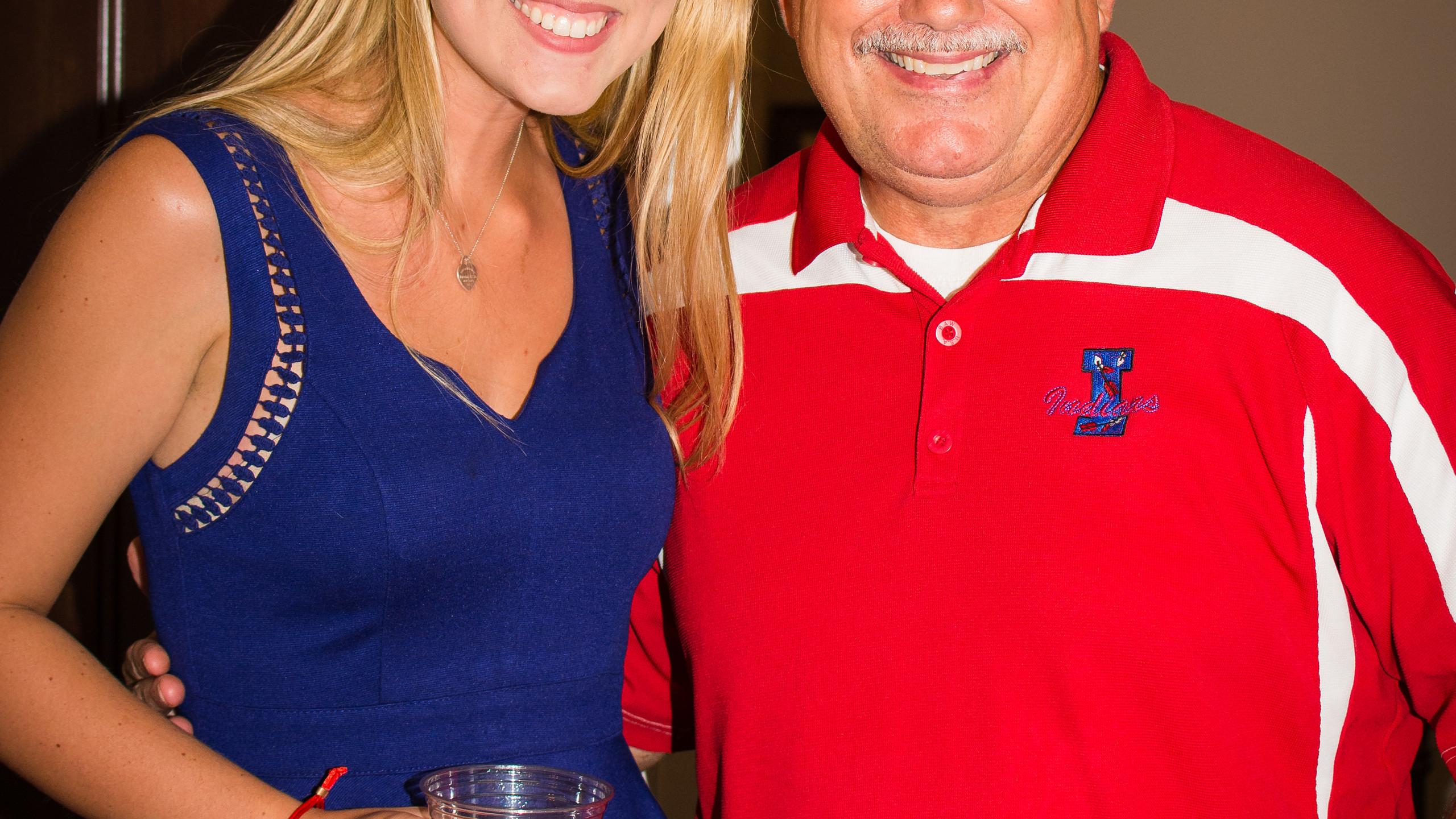Michaela Dowdy and Gary Gossett