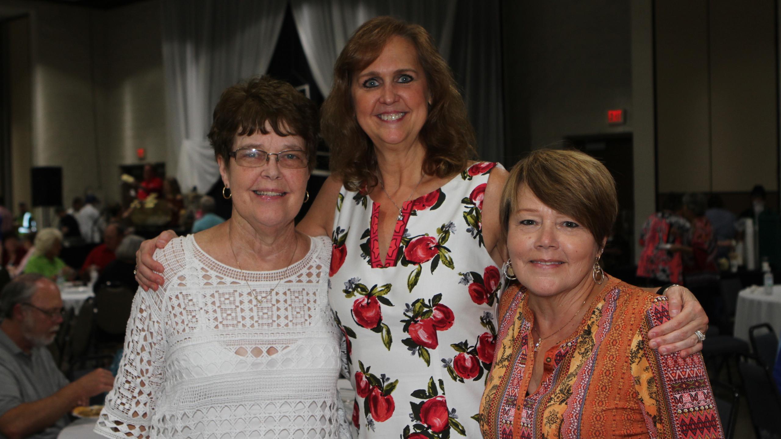 Marie Harper, Suzie Norwood, Jo Glover