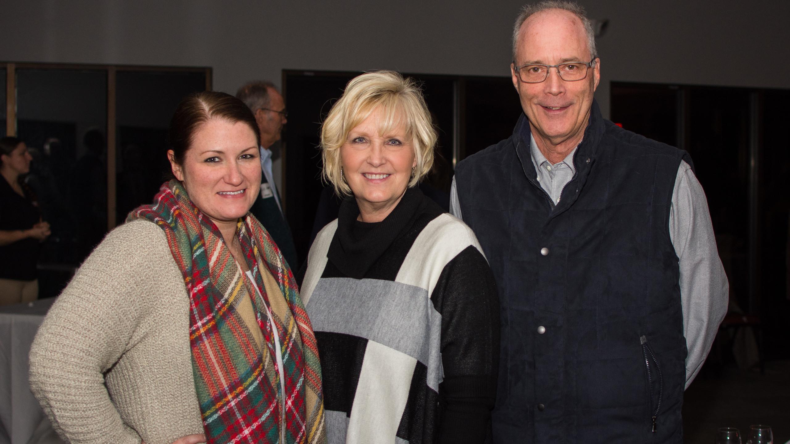 Robin Burton, Melinda Shepard, and Bill