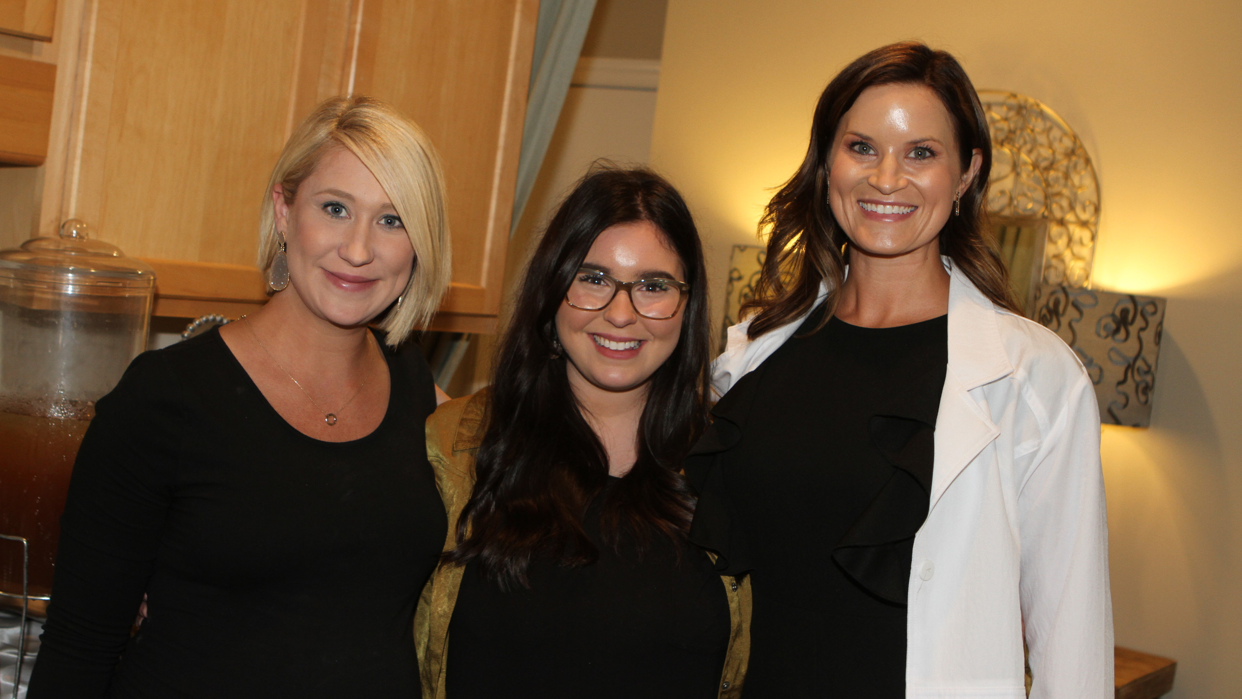 Kelsey Harvey, Tori Proctor, Amanda Hurt