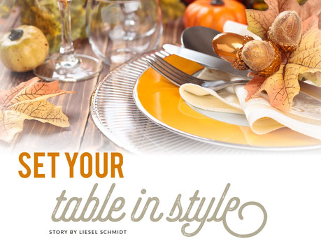 Set your Table in Style