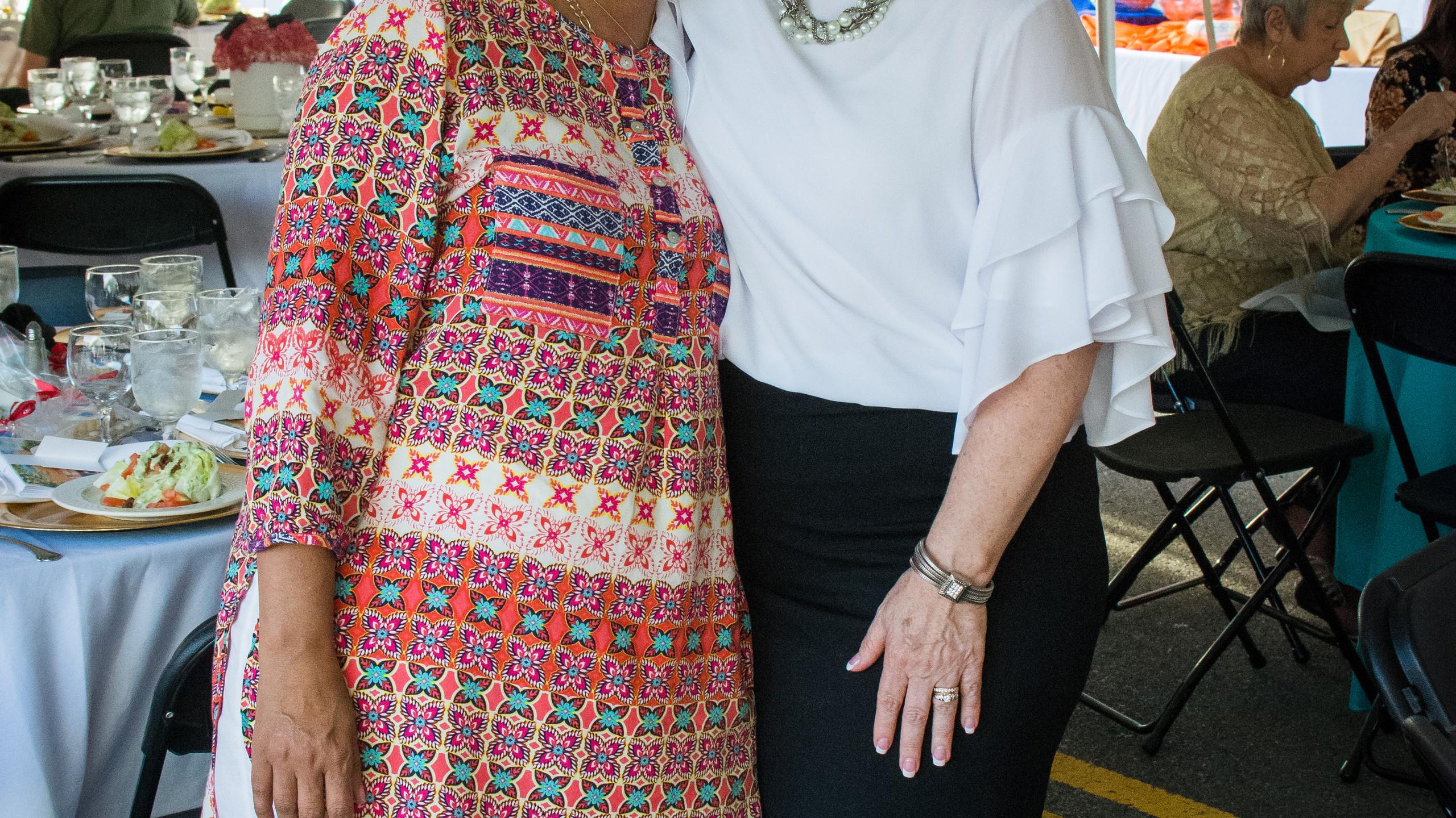 Lisa Hunt and Cynthia Pitts