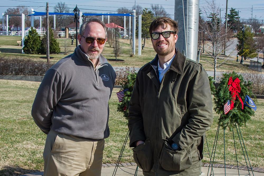 Robert Nash & Dr. Burton Coleman