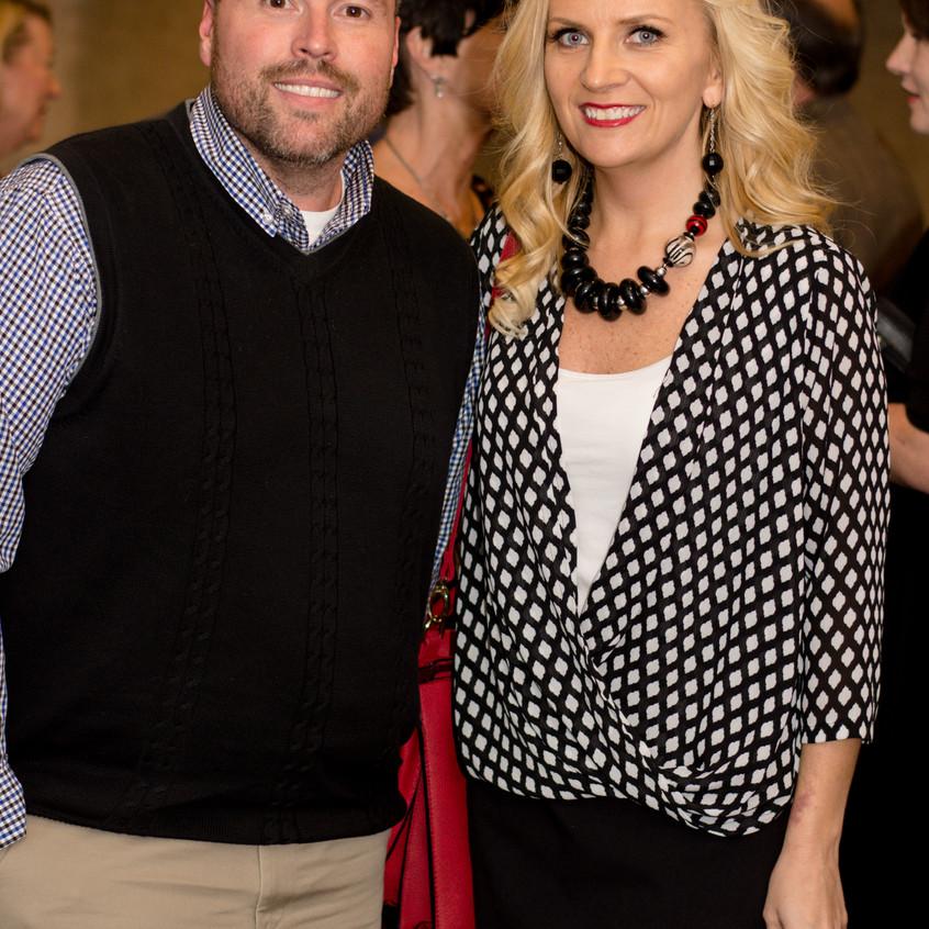 Jason Vincent and Kelli Pendleton