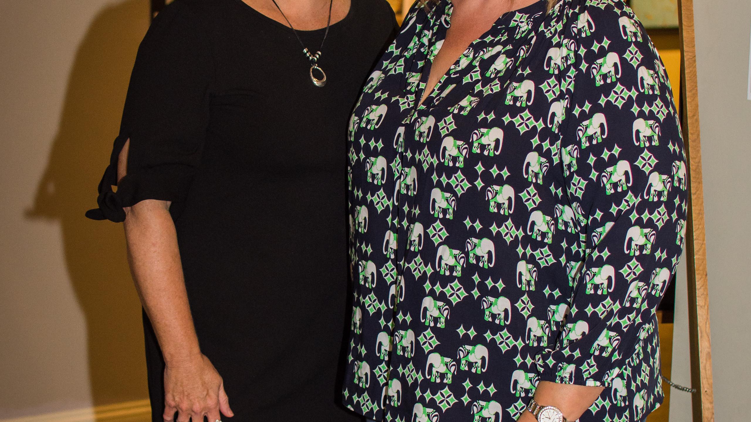 Joni Hargrove and Deanna McLaughlin