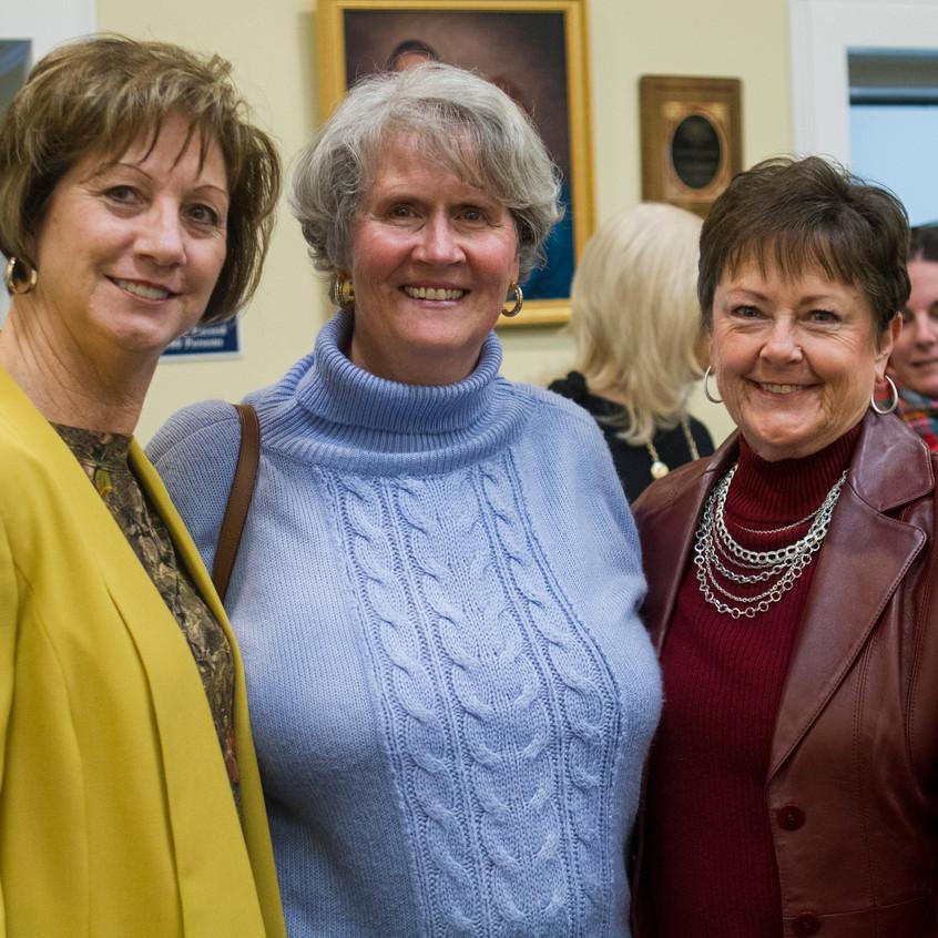 Kathleen Hayes, Nan Connell, Kay Hendricks
