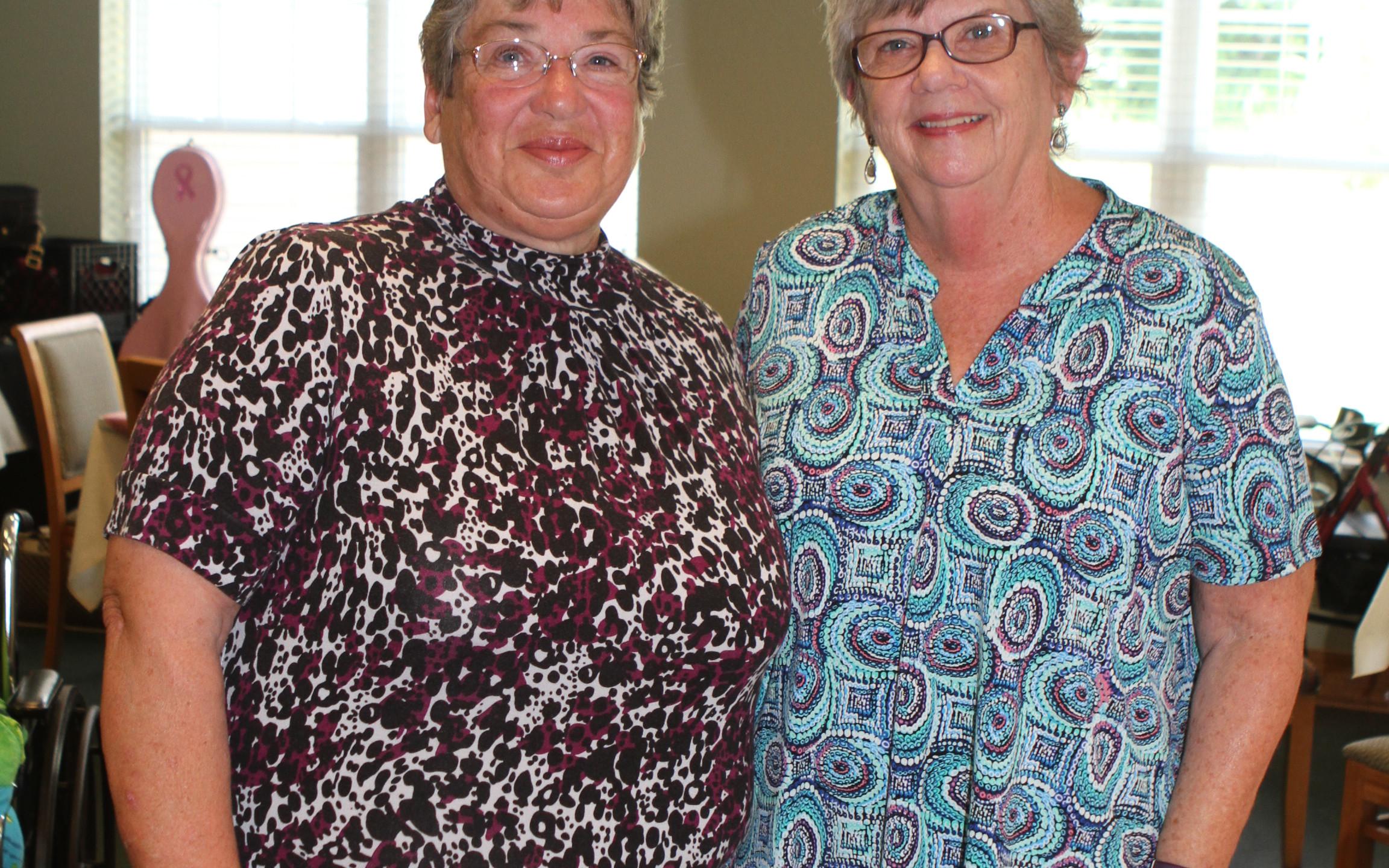 Bonnie Roberts, Judy Baggett