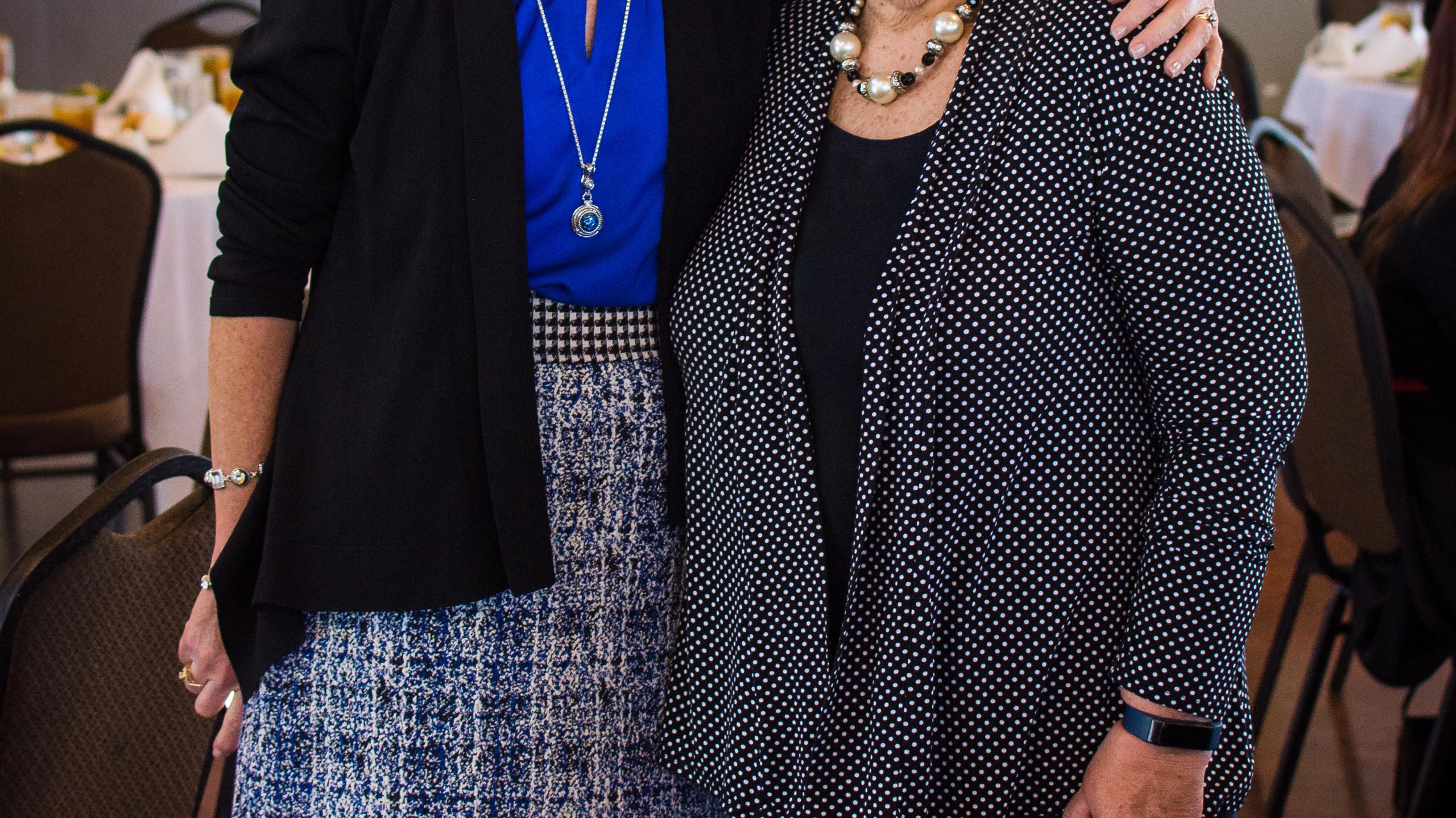 Carolyn Pierce and Diane All