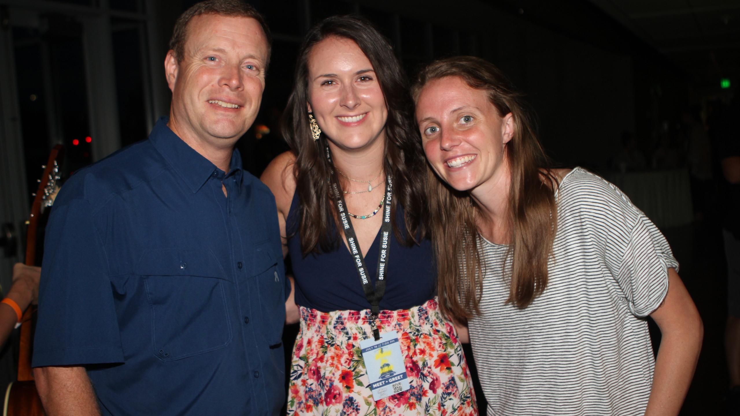 Jim & Laura Burchett, Mary Beth Meyer