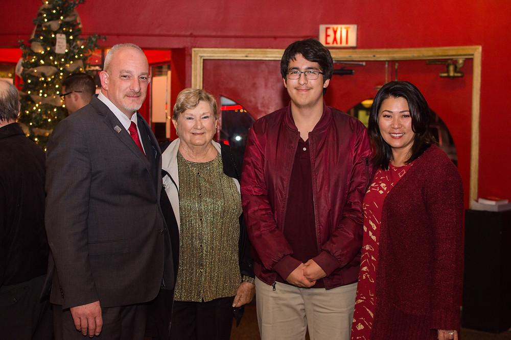 Randy whetsell, Carolyn Tibbetts, Logan & Su Whetsell