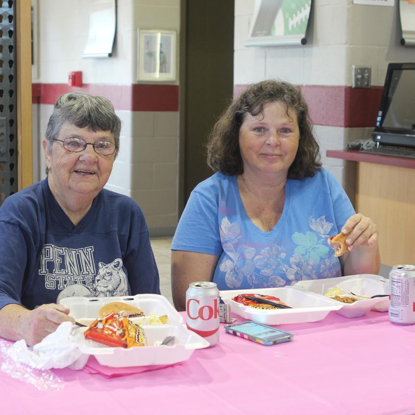 Kay Haupt and Kathy Mccarver
