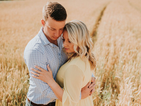 McKenzie & Smiley Engaged Couple