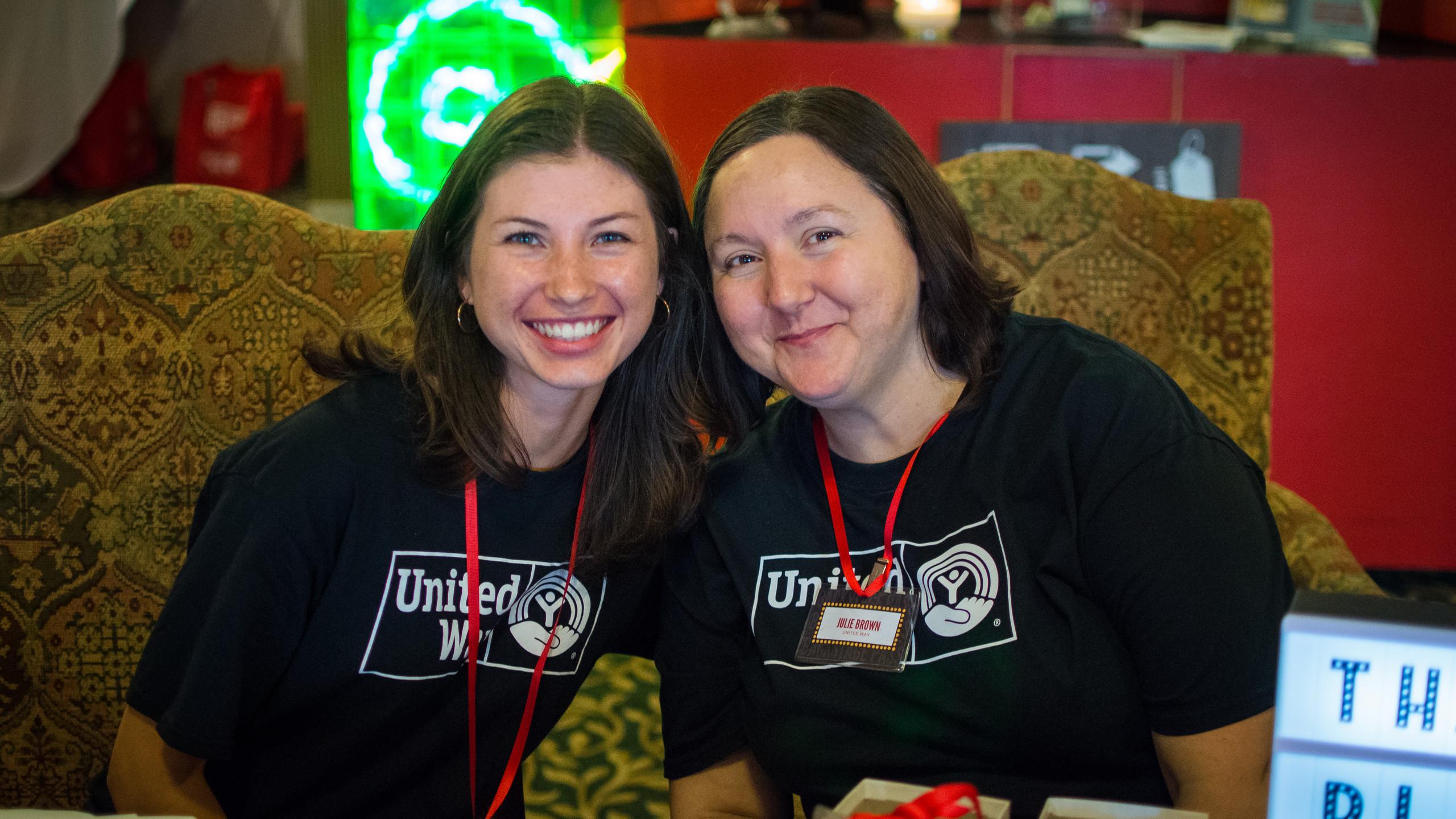Sarah Wood and Julie Brown