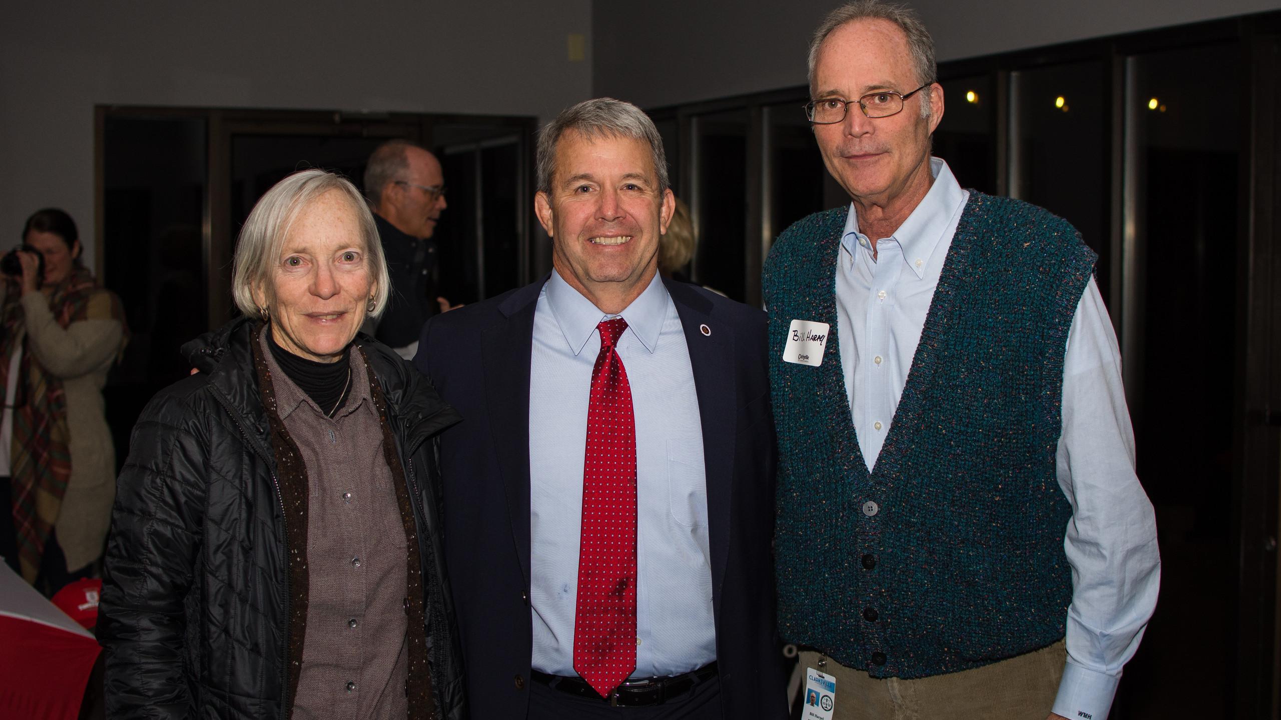 Anna Simons, Scott Brower, and Bill Harp