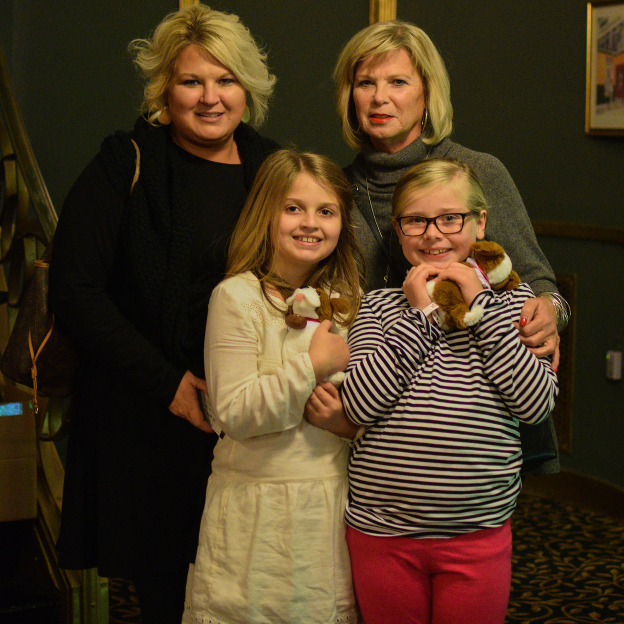 AbbyBinkley,SusanJohnson,Audra-GraceBinkley,MadisonKitchen
