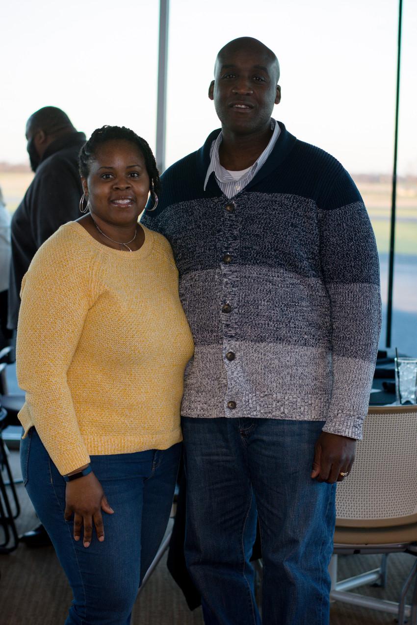 Lamonte and Swenette Frazier