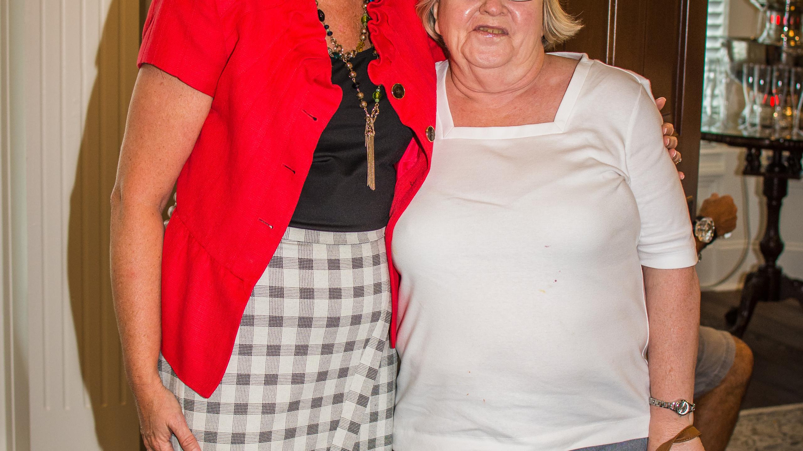 Ladonna Dowdy and Linda William