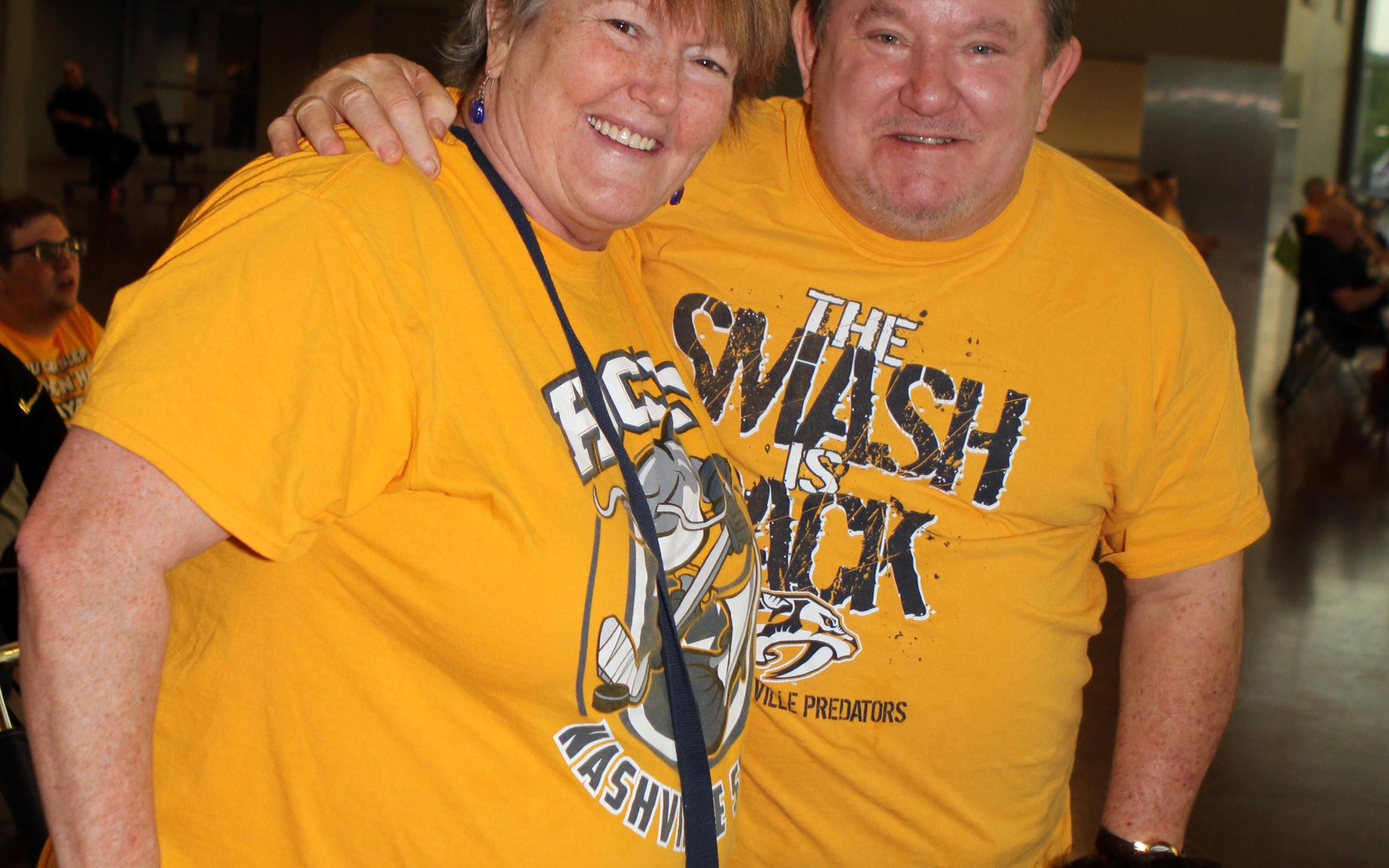 Cindy Smith, Bruce Thomas