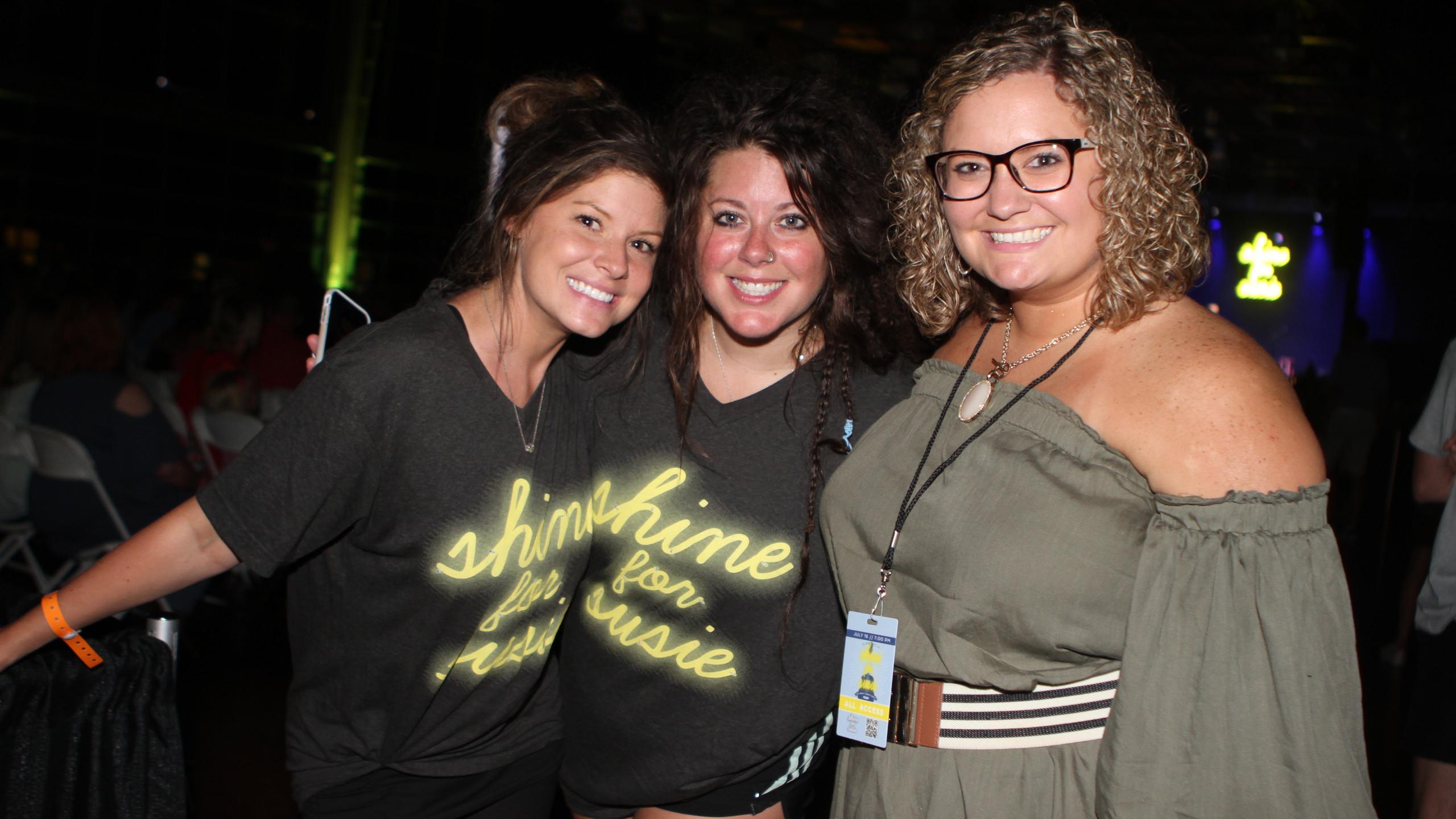 Jenna & Rebekah Liles, Sally Burchett