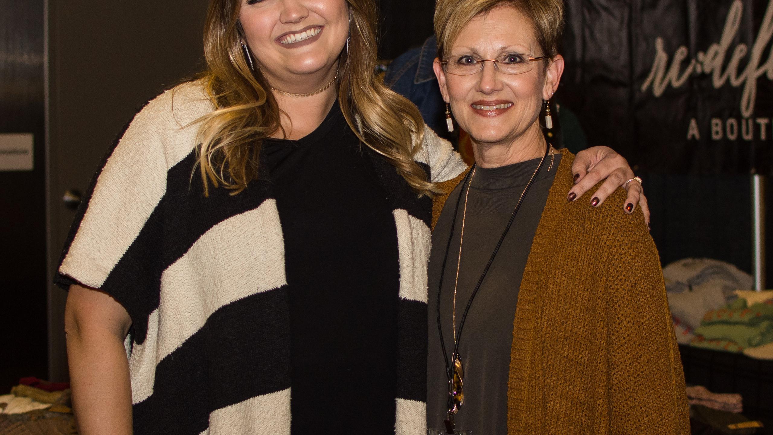 Jenna Boykin and Theresa Loxley
