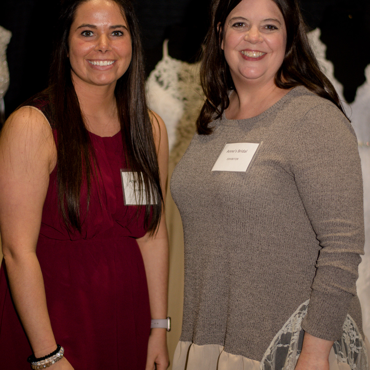 Jessica Wooley and Stephanie Byrd of Annes Bridals