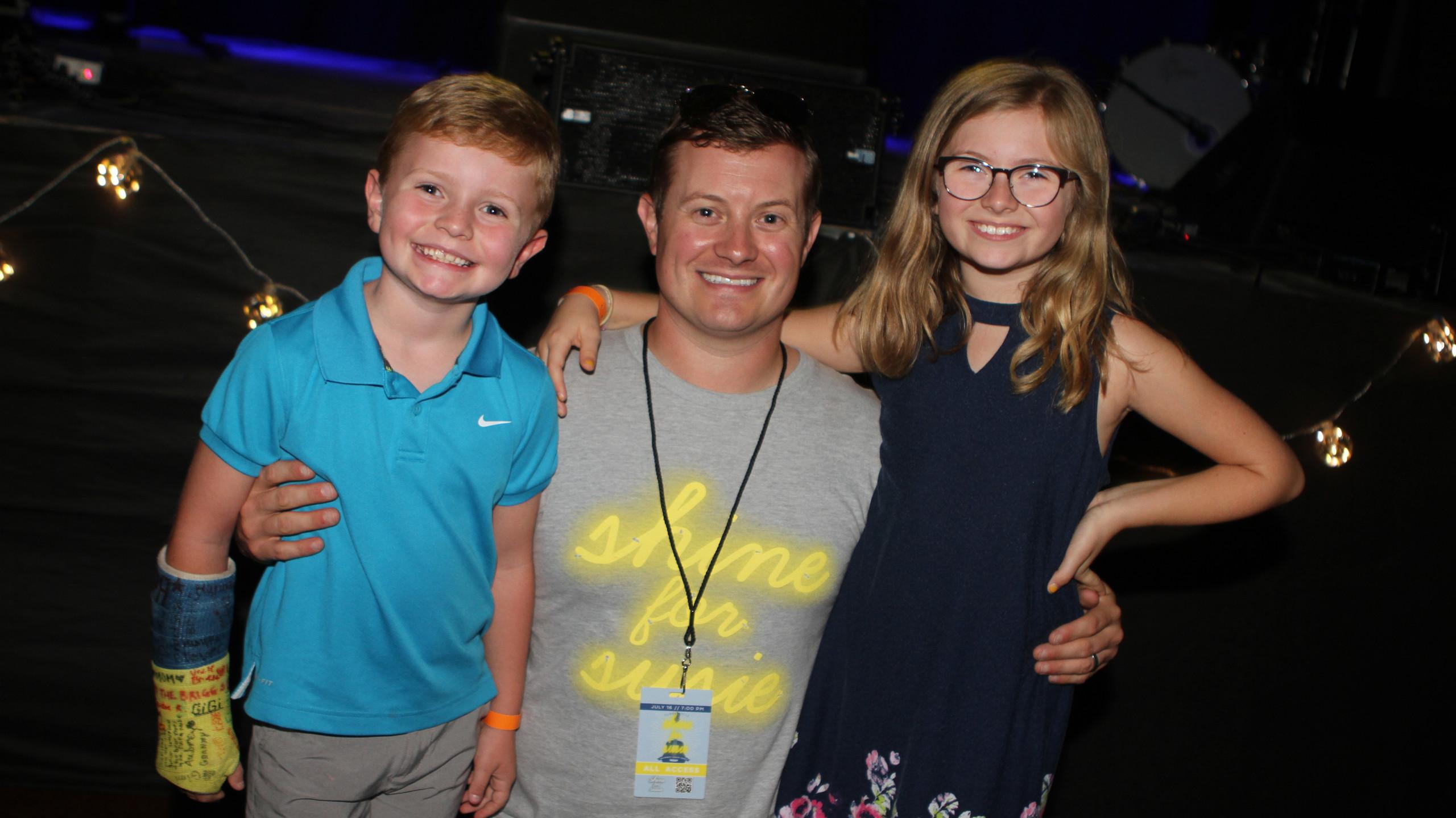 Graham, Skip & Aubrey Burchett