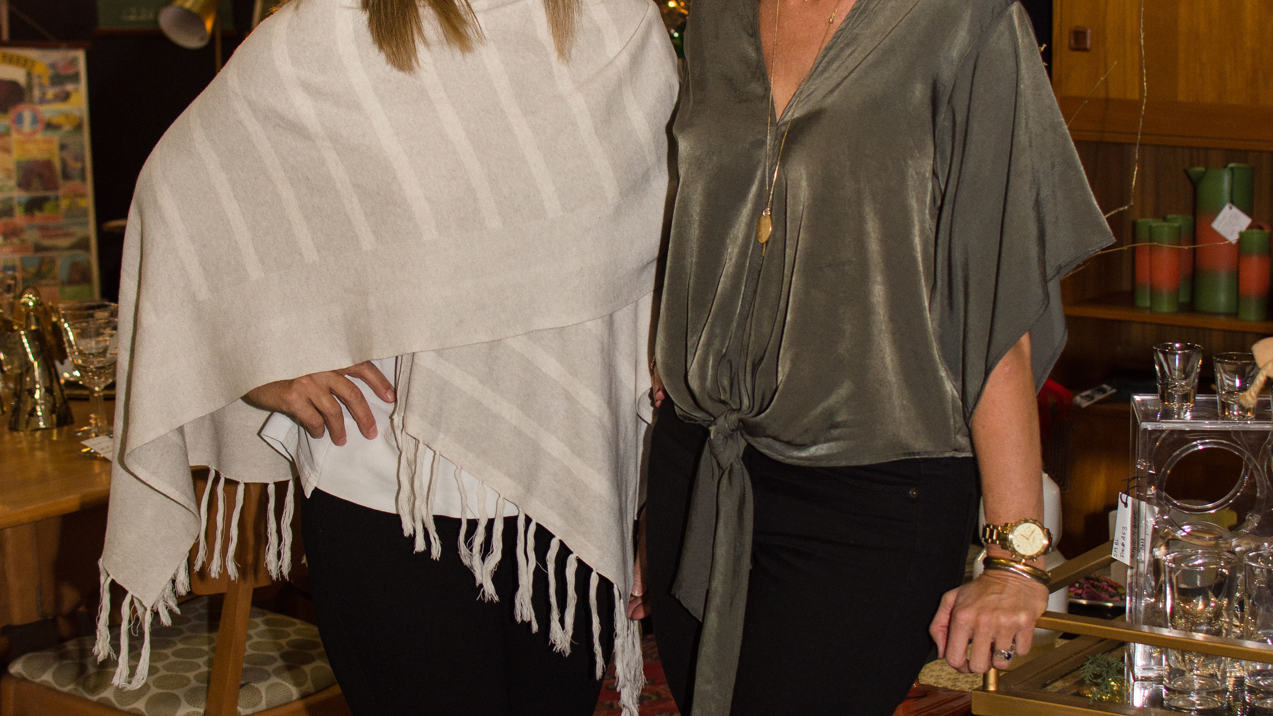Linda Kautz and Beth Humphries