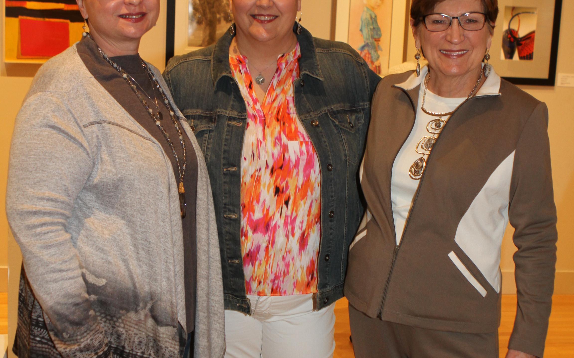Lisa Sumner, Carla Futrell, Jan Vaughn