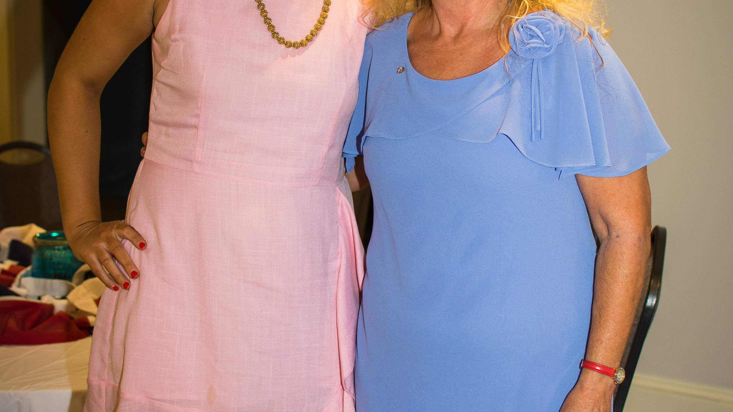 Laine Arnold and Cathy Kolb