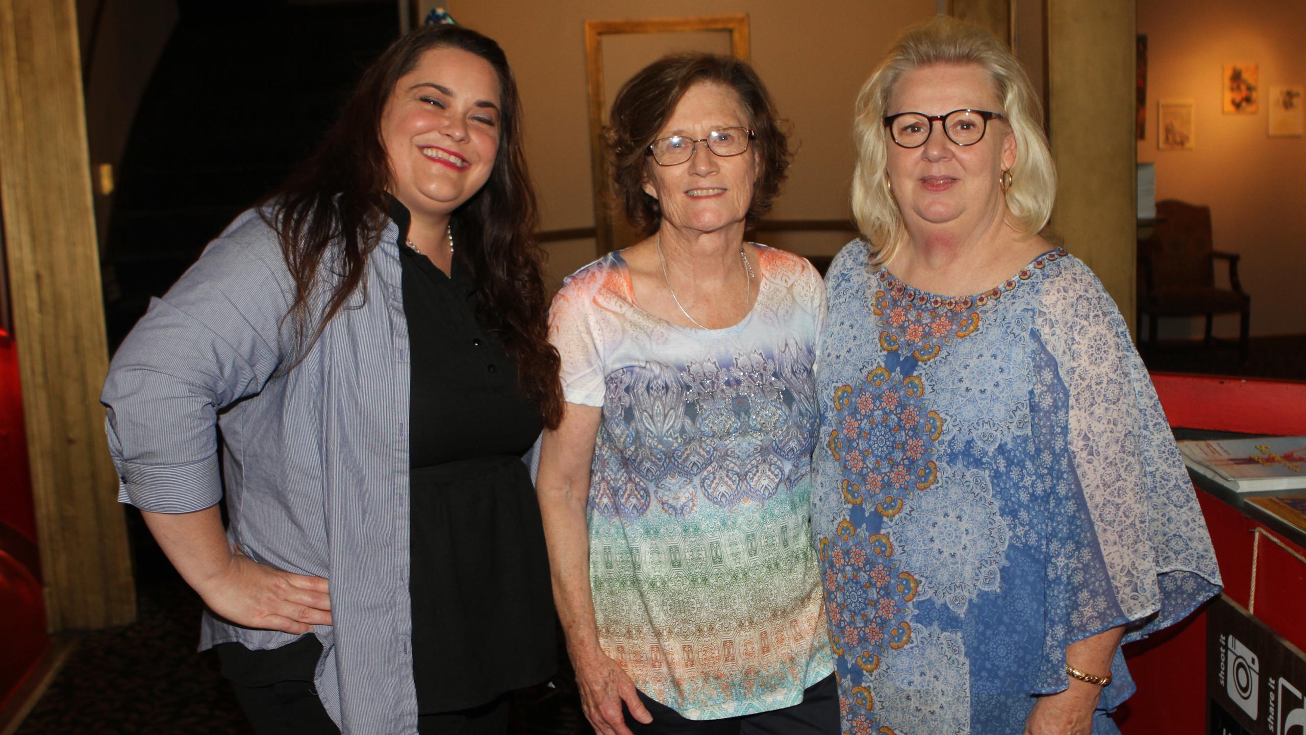 Nicole O'Connor, Nancye Britton, Brenda