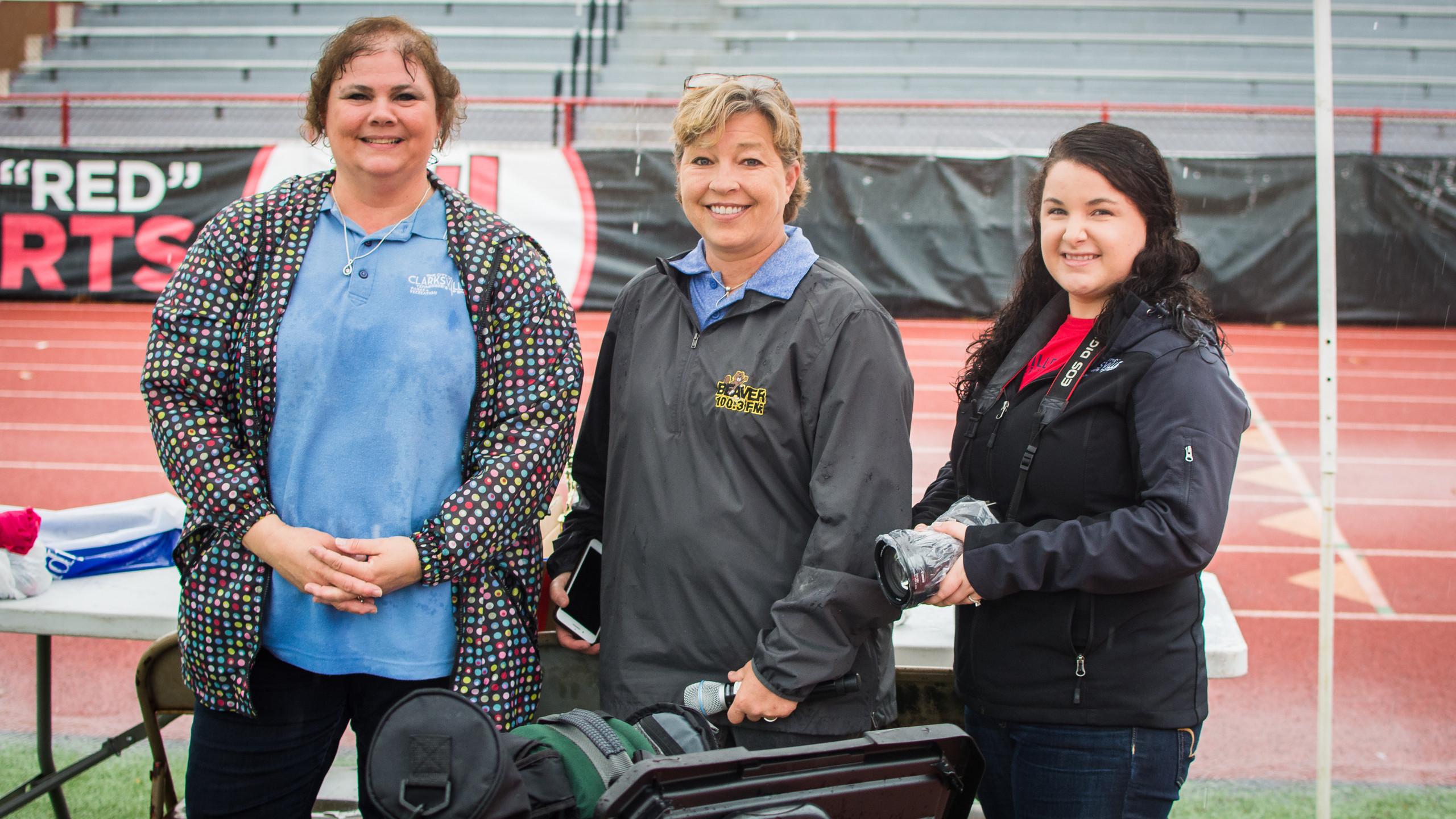 Tina Boycha, Monica Reed, and Kaylee Dowdy