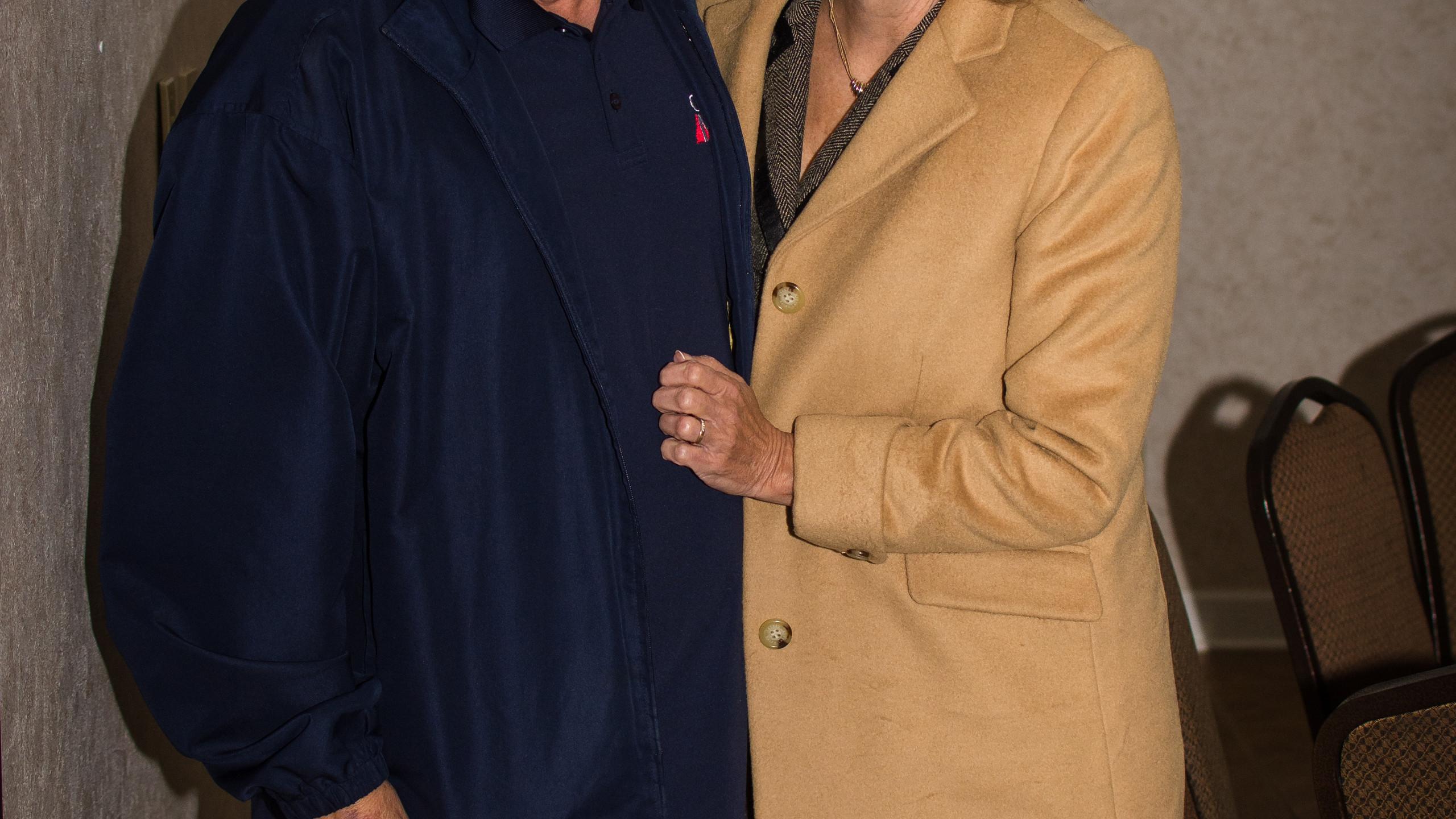 Lee Irwin and Cindy Chambers