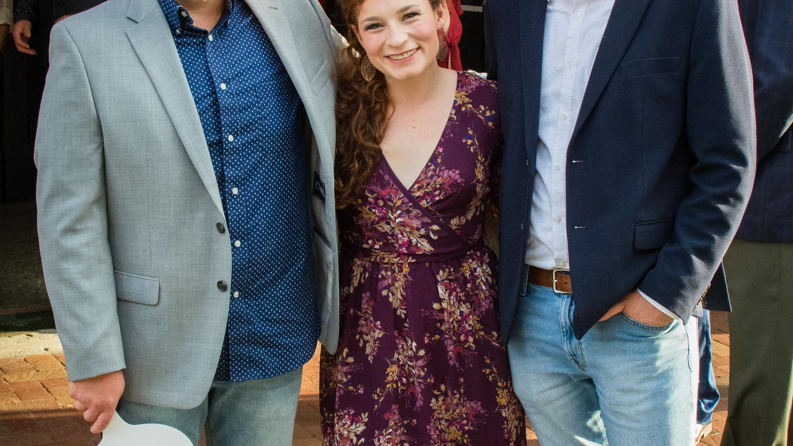 Anthony Johnson, Kelly Latourneao, and T