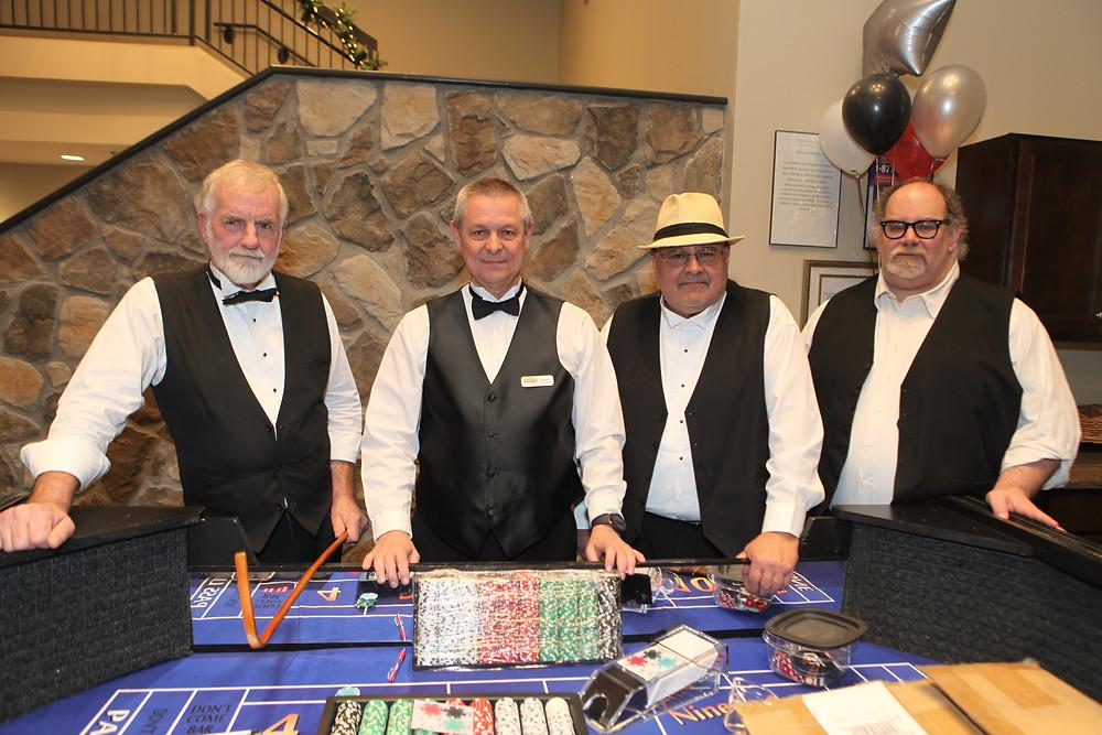 Richard Booth, Danny Hutchinson, Tony Hale & Mark Klein