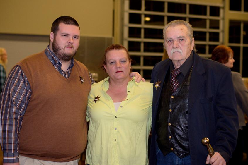 Tyler, Barbara, and George Butler