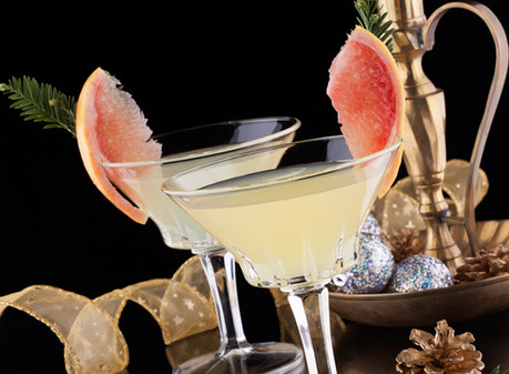 Holiday Mocktail: Grapefruit Martini