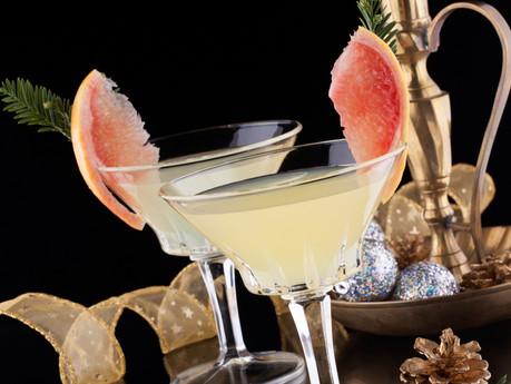 Holiday Mocktail: Grapefruit Martini