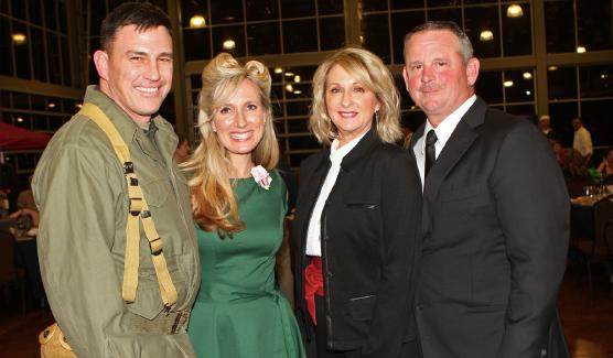 Col. Joseph & Sarah Kuchan & Mary & Mayor Jim Durrett