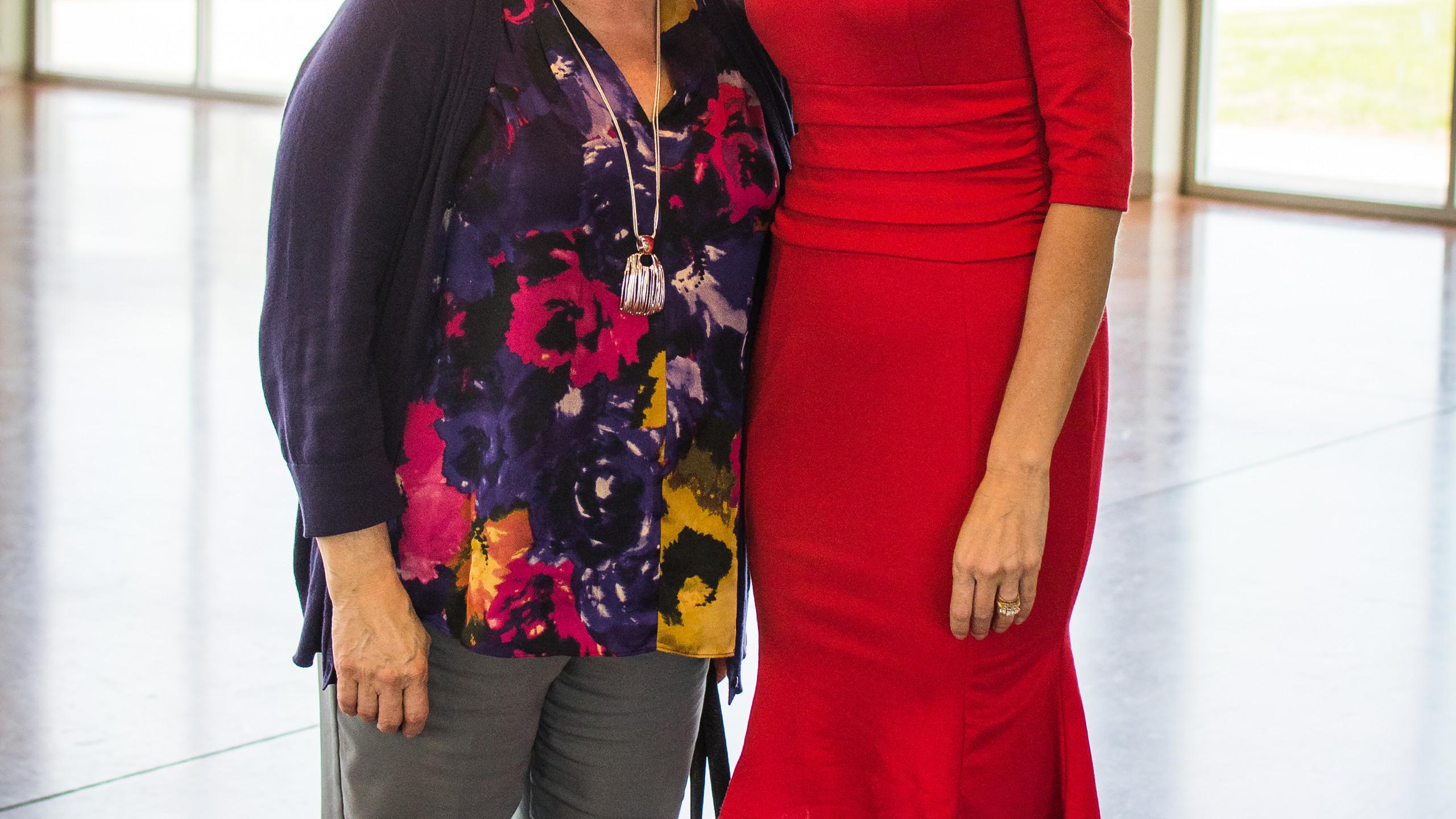 Carol Clark and Ginna Holleman