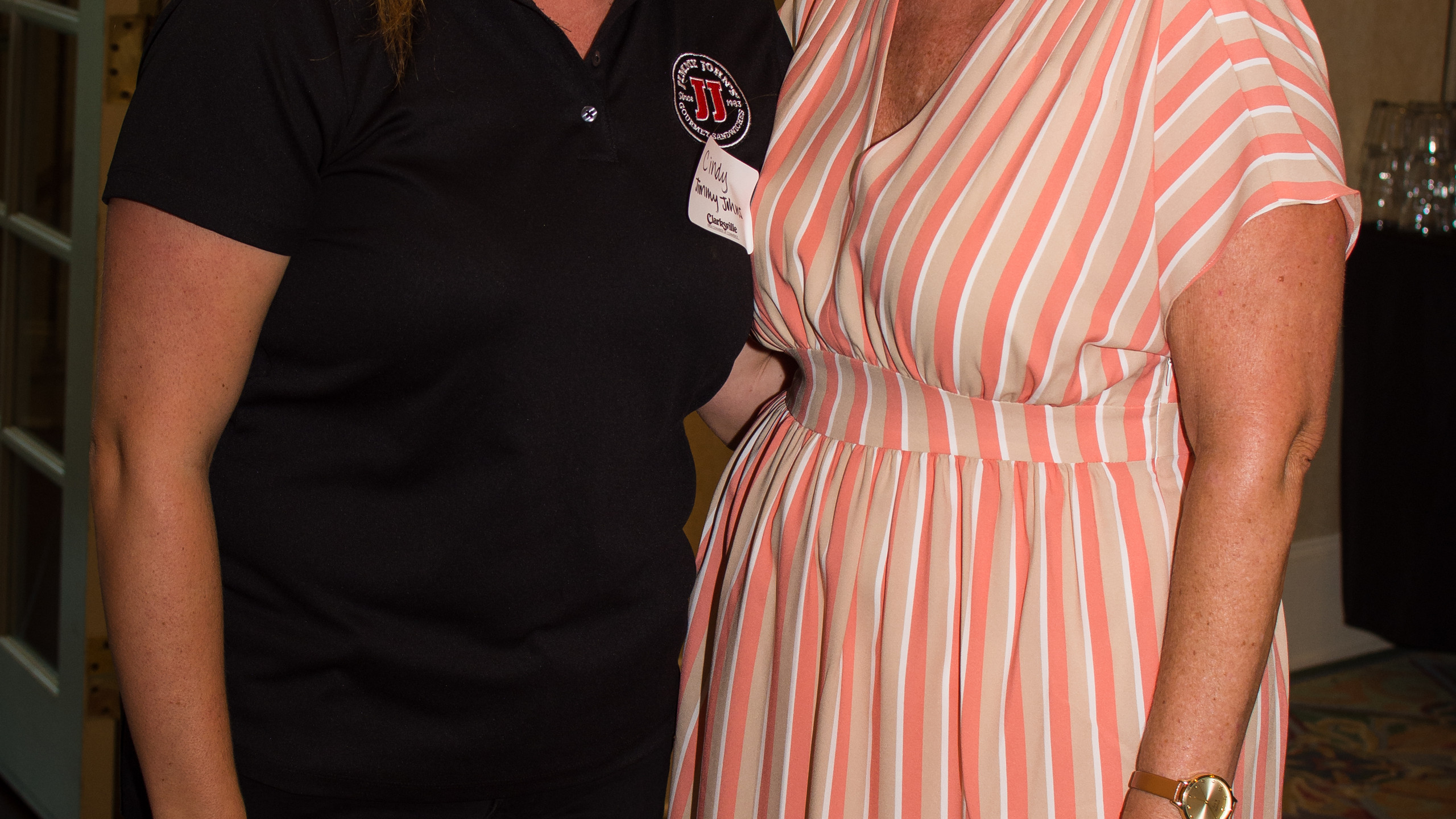 Cindy Parcells and Melinda Shepard