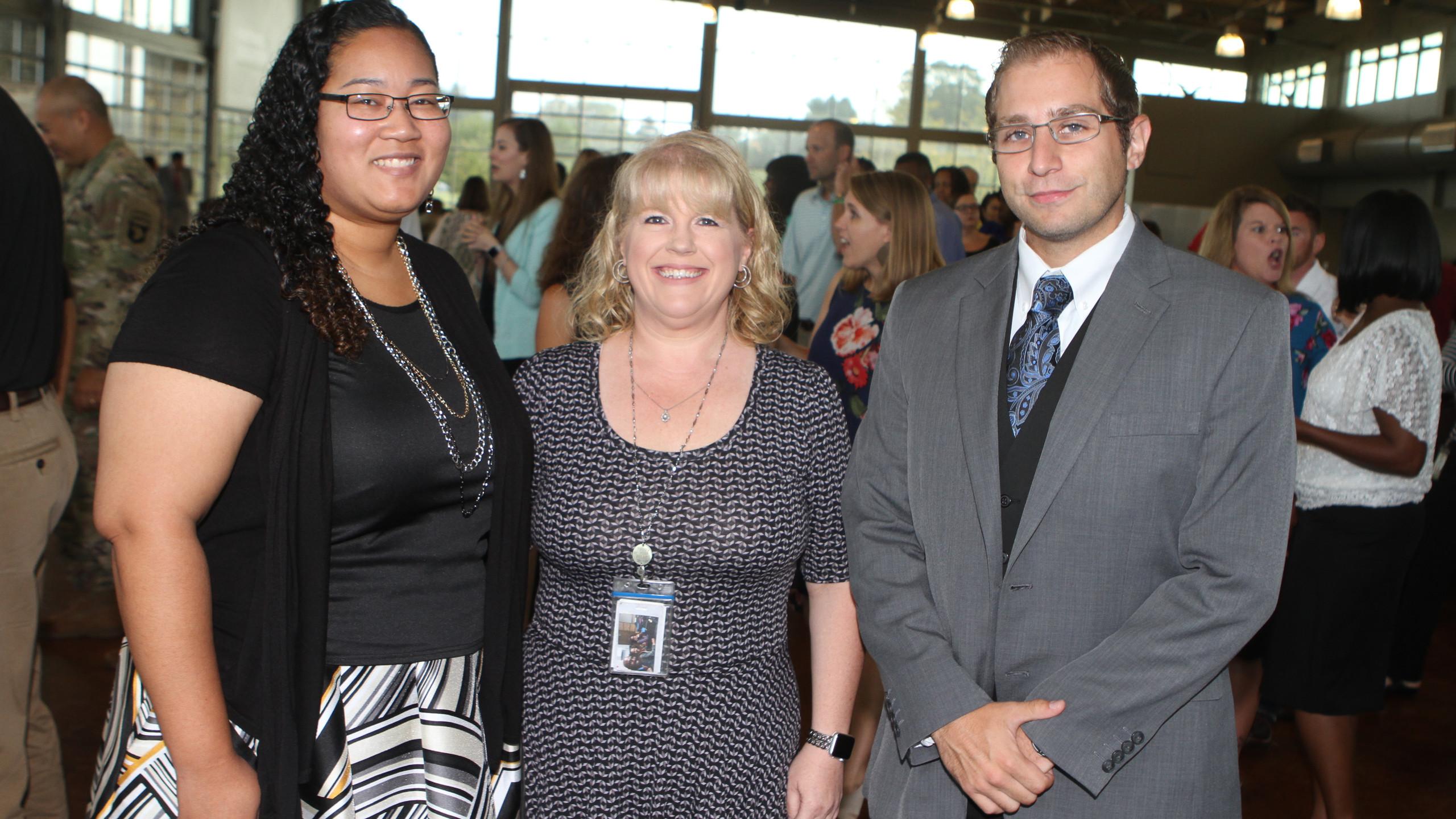 Denise Smith-Martinez, Kim Anderson, Bri