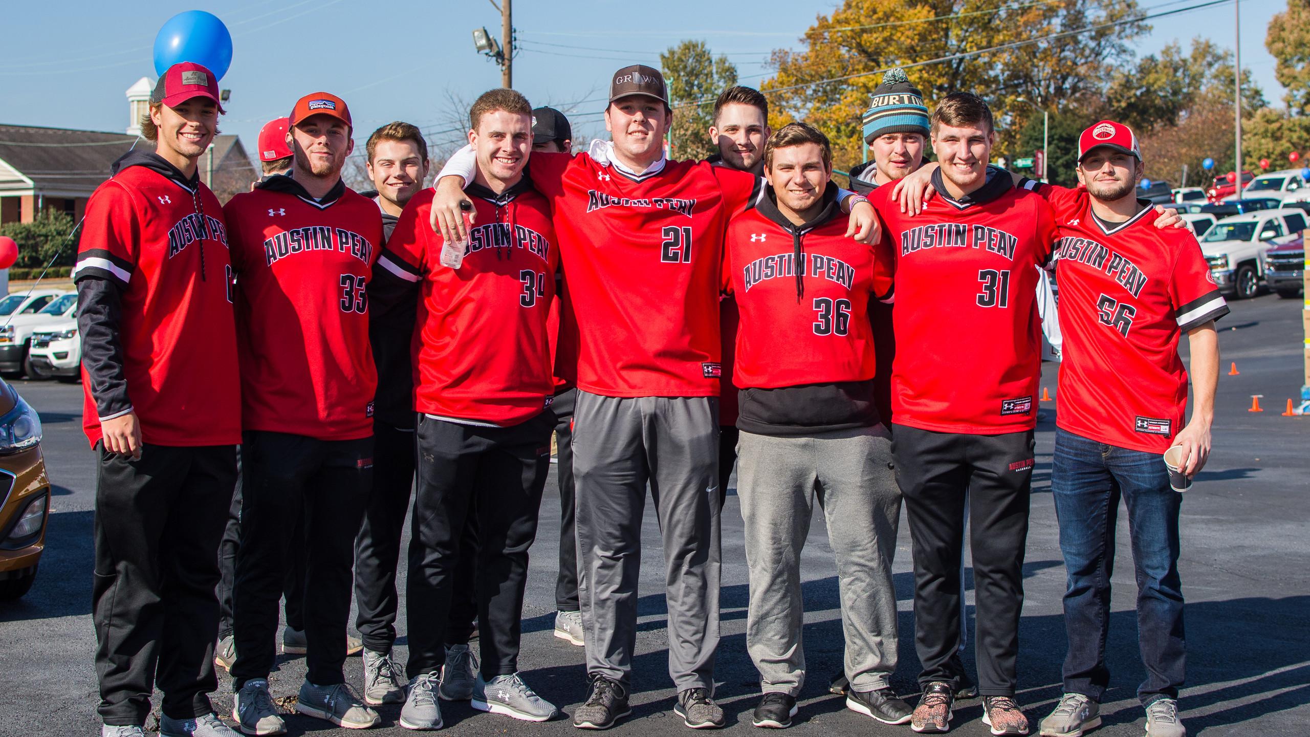 APSU Baseball Team