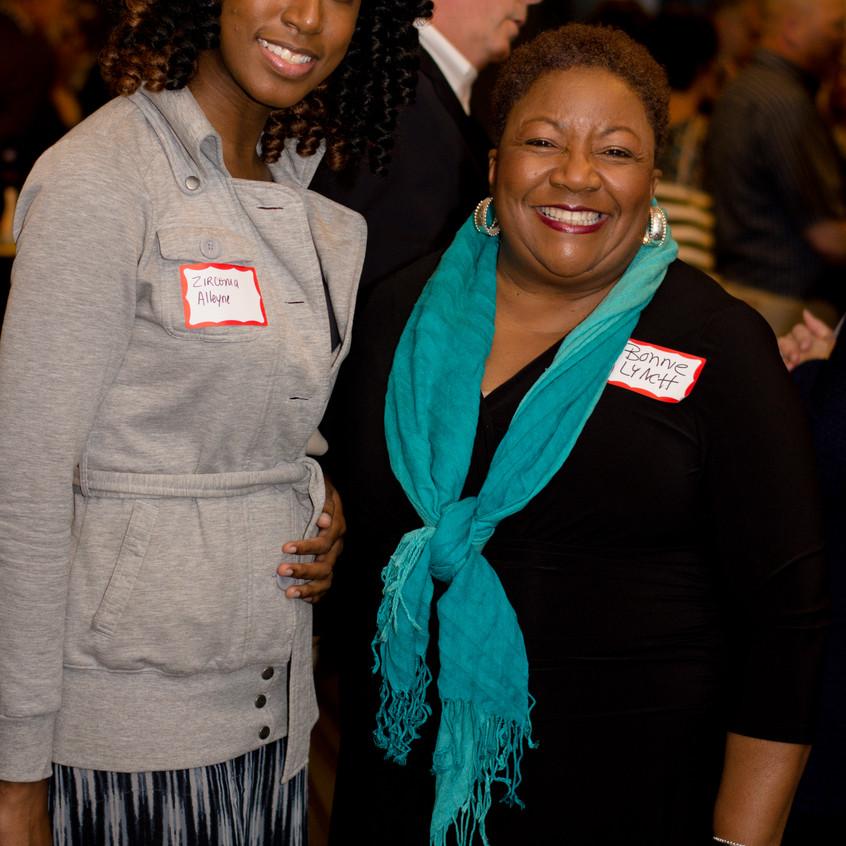 Zirconia Alleyne and Bonnie Lynch