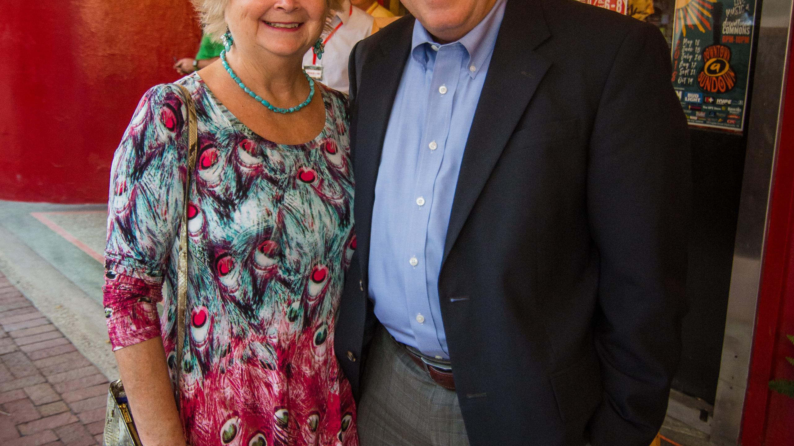 Patti Marquess and Frank Lott